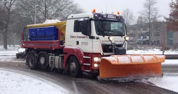 Gladheidsbestrijding Elbers Transport