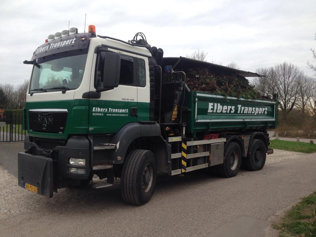 Knijperauto 6x6 - Elbers Transport